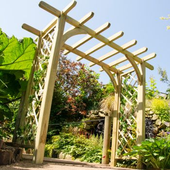 Hartwood Large Ealing Garden Arch