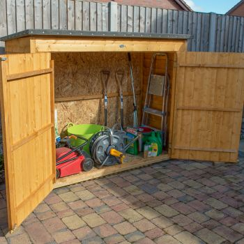 Hartwood Overlap Pent Large Outdoor Store