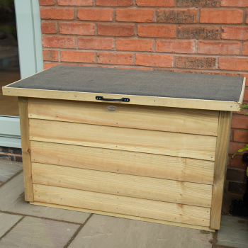 Hartwood Pressure Treated Overlap Garden Storage Box