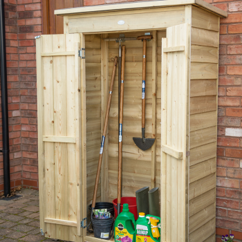 Hartwood Pressure Treated Overlap Pent Tall Garden Store