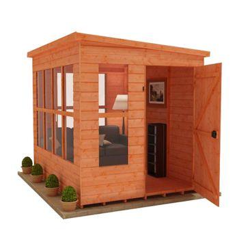 Redlands 6' x 6' Home Office Summer House
