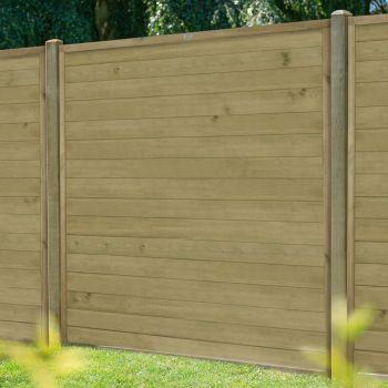 Hartwood 6' x 6' Horizontal Pressure Treated Tongue & Groove Fence Panel