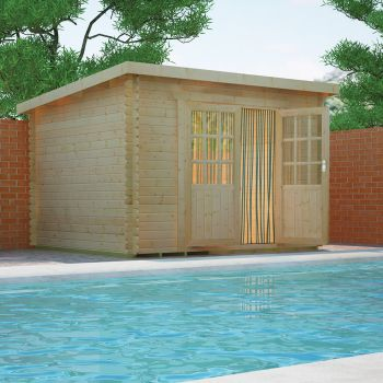 Redlands 3.6m x 3m Erin Log Cabin