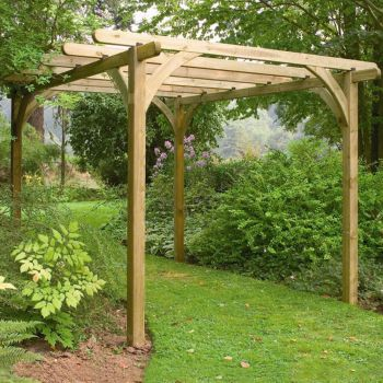 Hartwood Large Supreme Pergola Kit