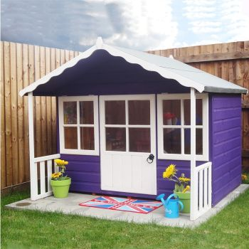 Loxley 6' x 4' Butterscotch Playhouse