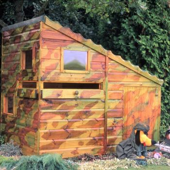 Loxley 6' x 4' Custard Playhouse