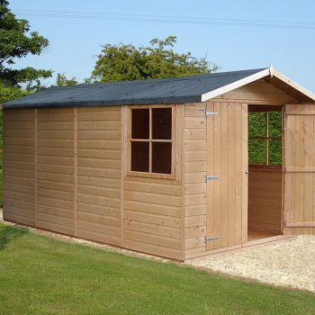 Loxley 7' x 13' Double Door Shiplap Apex Shed