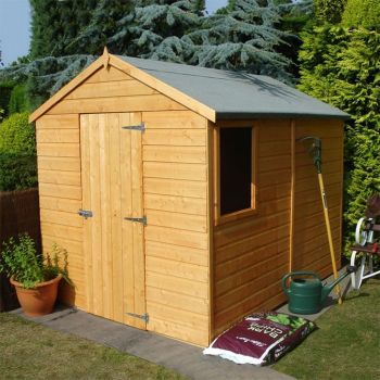 Loxley 6' x 8' Shiplap Apex Shed