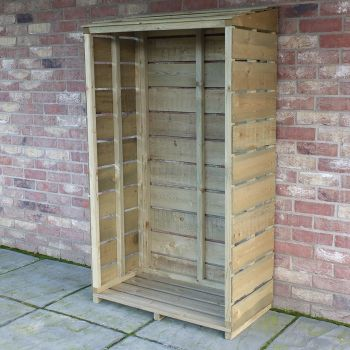 Loxley Pressure Treated Tall Log Store