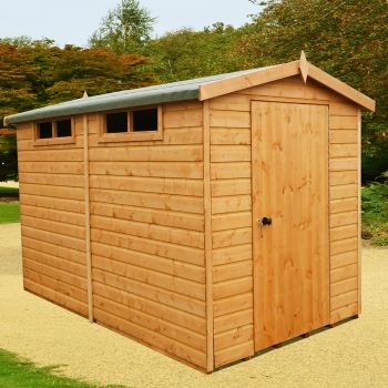 Loxley 8' x 10' Shiplap Apex Security Shed