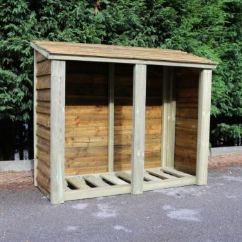 Moorvalley 4' High Double Log Store