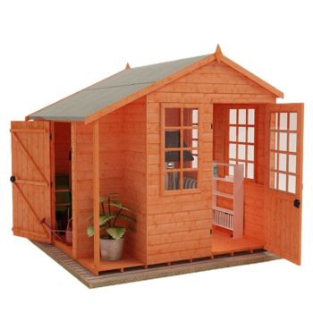 Redlands 8' x 8' Nordic Style Summer House