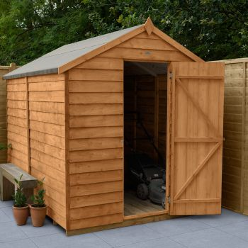 Hartwood 6' x 8' Windowless Overlap Apex Shed