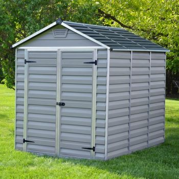 Palram 6' x 8' Skylight Plastic Grey Shed
