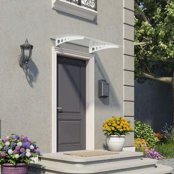 Palram Small White Twinwall Doorway Canopy