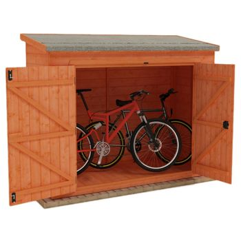 Redlands 7' x 3' Shiplap Pent Bike Shed