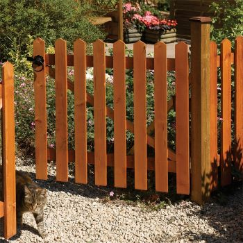 Rowlinson 6' x 3' Picket Fence Panel