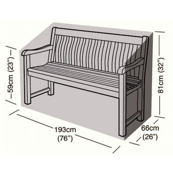 Protector - 3/4 Seater Bench Seat Cover - 193cm