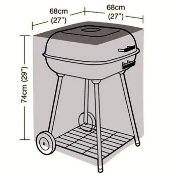 Protector - Square BBQ Cover - 68cm
