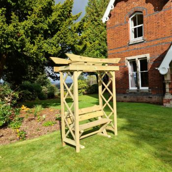 Moorvalley Cheddleton Bench and Arch Set