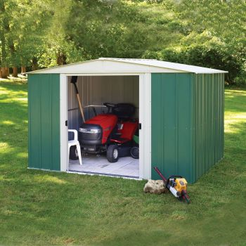 Rowlinson 10' x 8' Double Door Apex Metal Shed