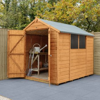 Hartwood 6' x 8' Double Door Shiplap Apex Shed