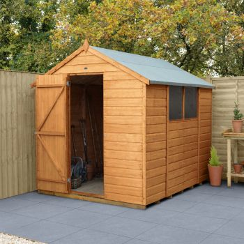 Hartwood 6' x 8' Shiplap Apex Shed