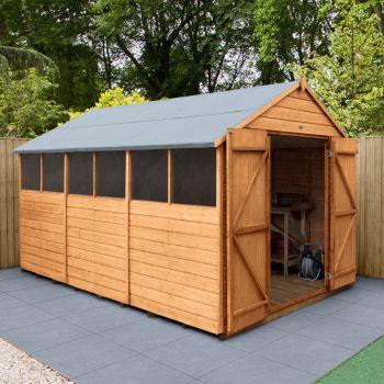 Hartwood 8' x 12' Double Door Shiplap Apex Workshop