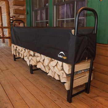 Shelter Logic Large Log Rack With Cover