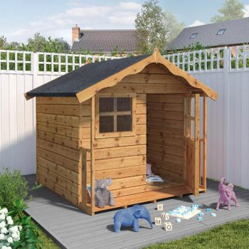 Adley 5' x 5' Jellytot Cottage Playhouse