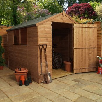 Adley 6' x 8' Pressure Treated Shiplap Apex Shed