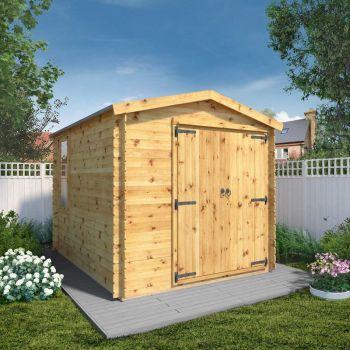 Adley 2.6m x 3.3m Ultimate Log Cabin Workshop