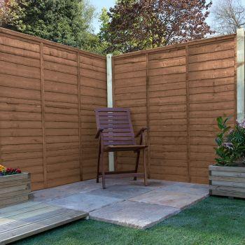Adley 5' x 6' Pressure Treated Lap Fence Panel
