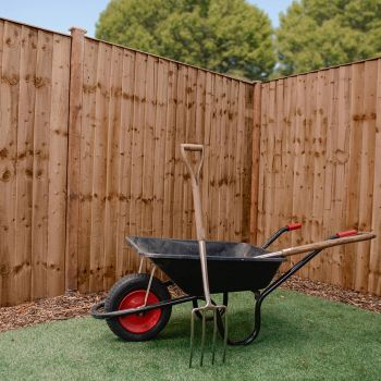 Adley 6' x 6' Pressure Treated Feather Edge Flat Top Fence Panel