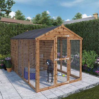 Adley 6' x 10' Superior Dog Kennel & Run