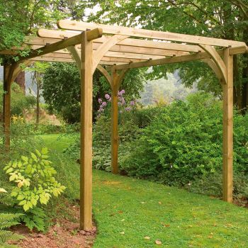 Hartwood Small Supreme Pergola Kit