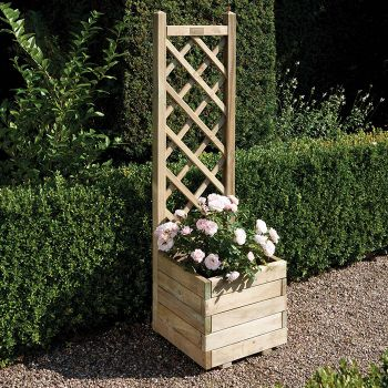 Rowlinson Square Planter and Lattice