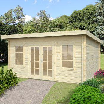 Stour 4.5m x 3.3m Yorkshire Log Cabin