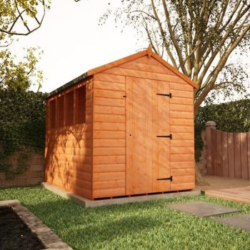 Redlands 6' x 8' Shiplap Apex Shed