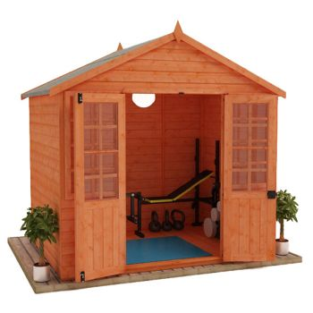 Redlands 8' x 6' Traditional Summer House