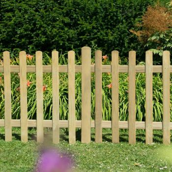 Hartwood 3' x 6' Pressure Treated Picket Fence Panel