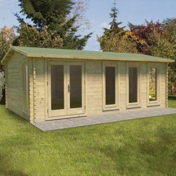 Hartwood 6m x 4m Ettington Log Cabin