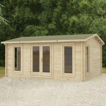 Hartwood 5m x 4m Newton Log Cabin