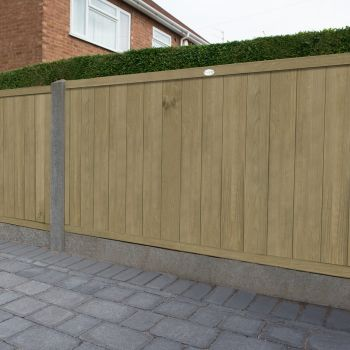 Hartwood 4' x 6' Vertical Tongue & Groove Pressure Treated Fence Panel