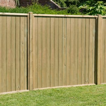 Hartwood 6' x 6' Vertical Tongue & Groove Pressure Treated Fence Panel