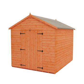 Redlands 8' x 10' Shiplap Apex Heavyweight Workshop