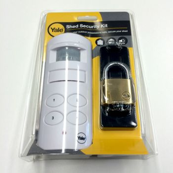 Yale Deluxe Shed Alarm Security Kit
