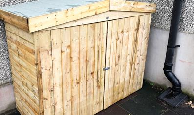 Hartwood PT Shiplap Apex Large Outdoor Store