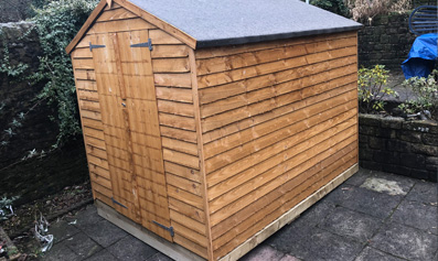 Wooden Shed Base