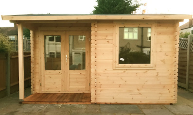 Adley 4m x 3m Dorchester Log Cabin